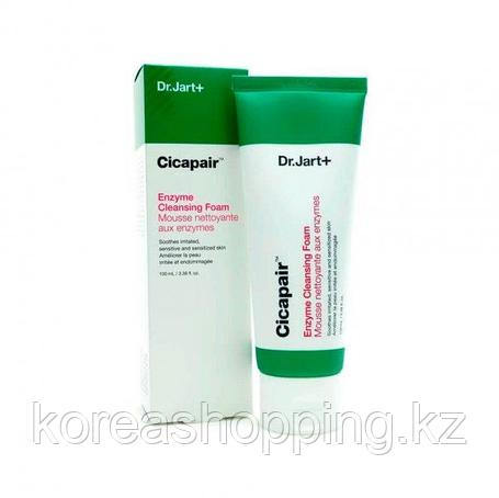 Энзимная пенка, для проблемной и чувствительной кожи, Dr.Jart+ Cicapair Enzyme Cleansing Foam, фото 2