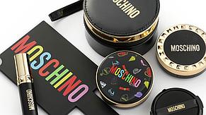 Кушон из лимитированной коллекции Moschino & Tony Moly Chic Skin Cushion SPF 50+ PA+++  (Тон 02 Chic Beige), фото 2