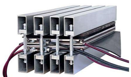 Стыковка (склейка) ленты конвейерной (транспортерной) методом горячей вулканизации
