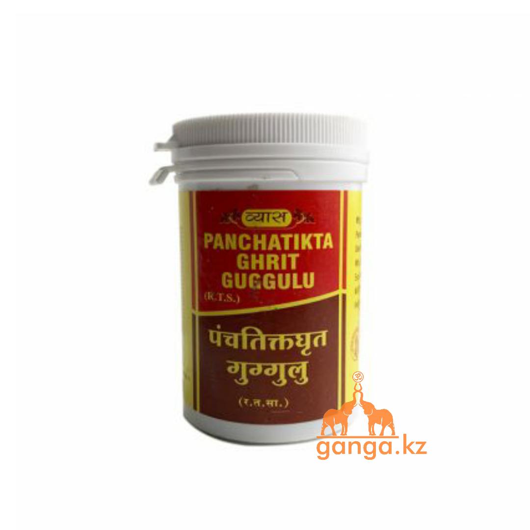 Панчатикта гхрит гуггулу (Panchatikta ghrit VYAS), 100 таб