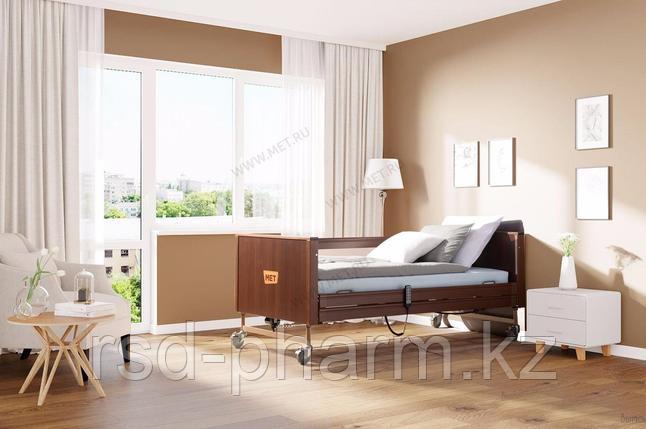 MET TERNA Кровать функциональная медицинская с регулировкой высоты, цвет венге, фото 2