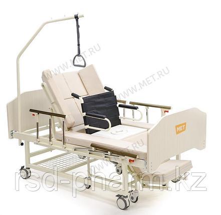 MET INTEGRA Медицинская кровать для дома с функцией переворота и интегрированным креслом-каталкой, фото 2