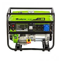 Генератор бензиновый БС-8000, 6,6 кВт, 230В, 4-х такт., 25 л, ручной стартер// Сибртех 94547