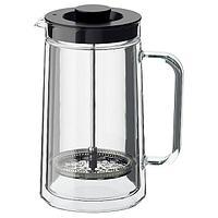 Чайник Кофе-пресс/заварочный ЭГЕНТЛИГ 0.9 л ИКЕА, IKEA