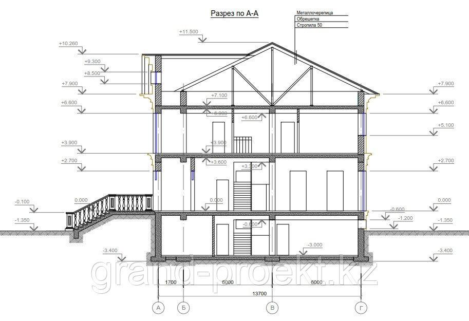 Проекты двухэтажных домов - фото 2
