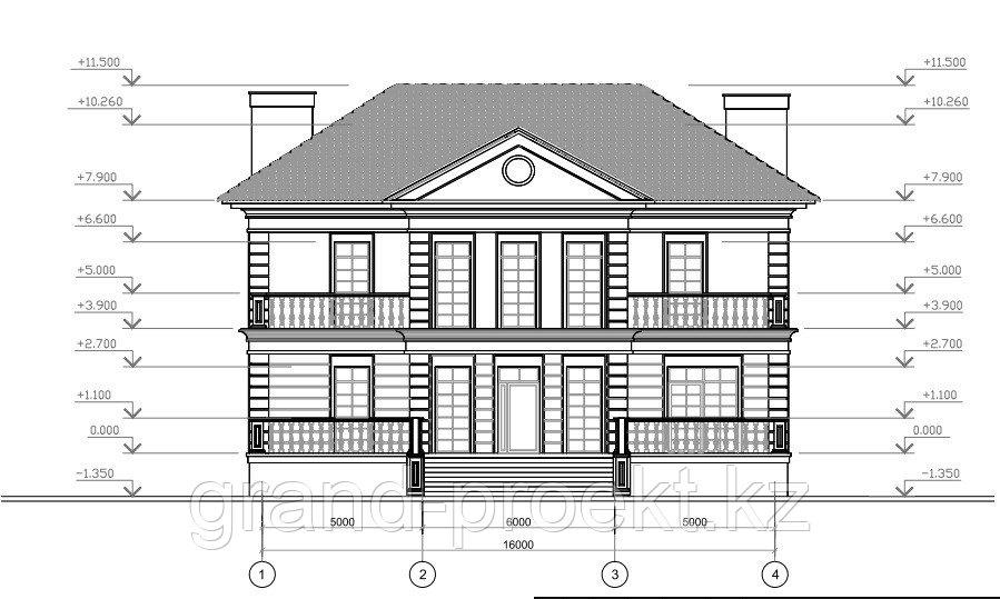 Проекты двухэтажных домов - фото 4