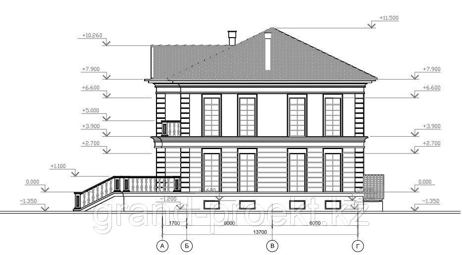 Проекты двухэтажных домов - фото 5