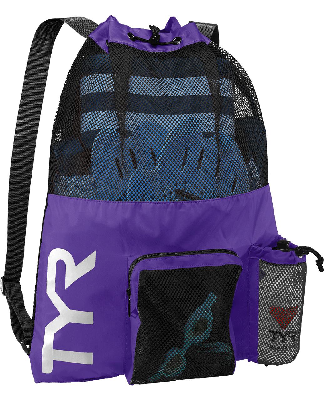 Рюкзак для аксессуаров TYR Big Mesh Mummy Backpack 510