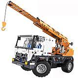 Конструктор CaDa C51013W Кран на  радиоуправлении, 838 дет. аналог Лего Техник LEGO Technic, фото 2