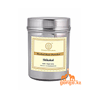 Натуральный порошок Шикакай (Organic Shikakai Powder KHADI), 150 г.