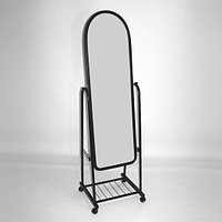 Напольное зеркало на колесиках