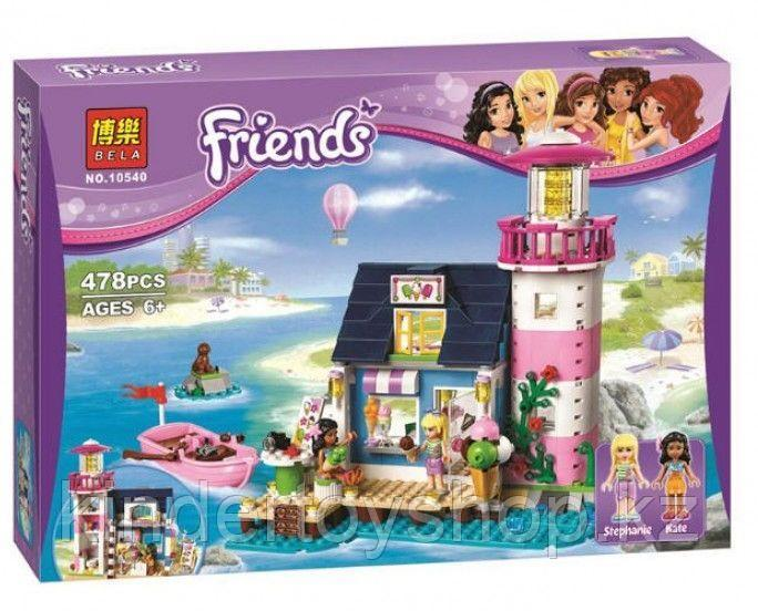 Конструктор Bela Friends Маяк 10540 (Аналог лего Lego Friends 41094) 478 дет