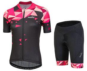 Женская короткая велоформа Nalini CHIC Women's Cycling Jersey And Shorts Set