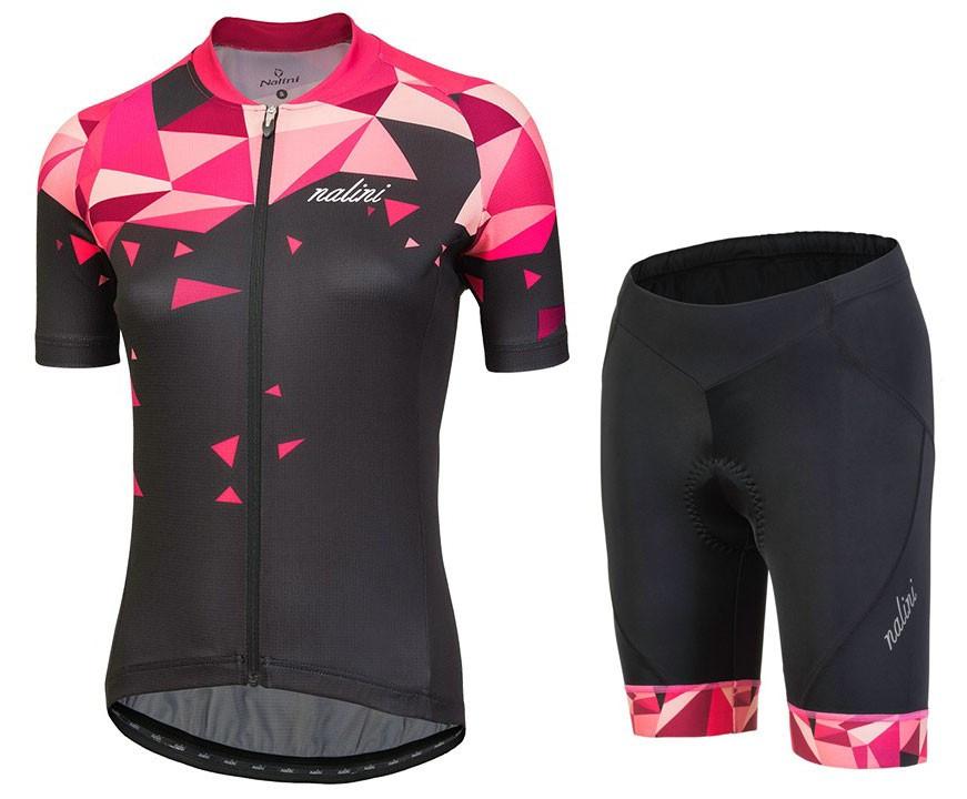 Женская короткая велоформа Nalini CHIC Women s Cycling Jersey And Shorts Set - фото 1