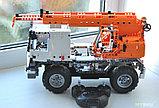 Конструктор CaDa C51013W Кран на  радиоуправлении, 838 дет. аналог Лего Техник LEGO Technic, фото 5