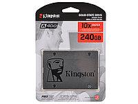 Твердотельный накопитель SSD, Kingston, SA400S37/240G, 240 GB, Sata 6Gb/s