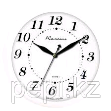 Часы настенные белые d30см