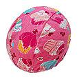 Многоразовые трусики подгузники для бассейна   кексы на розовом, фото 4