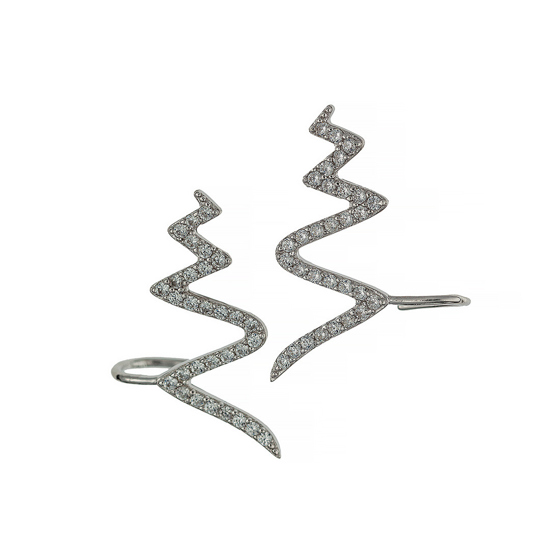 Серьги каффы Brosh Jewellery  (Серебро 925)
