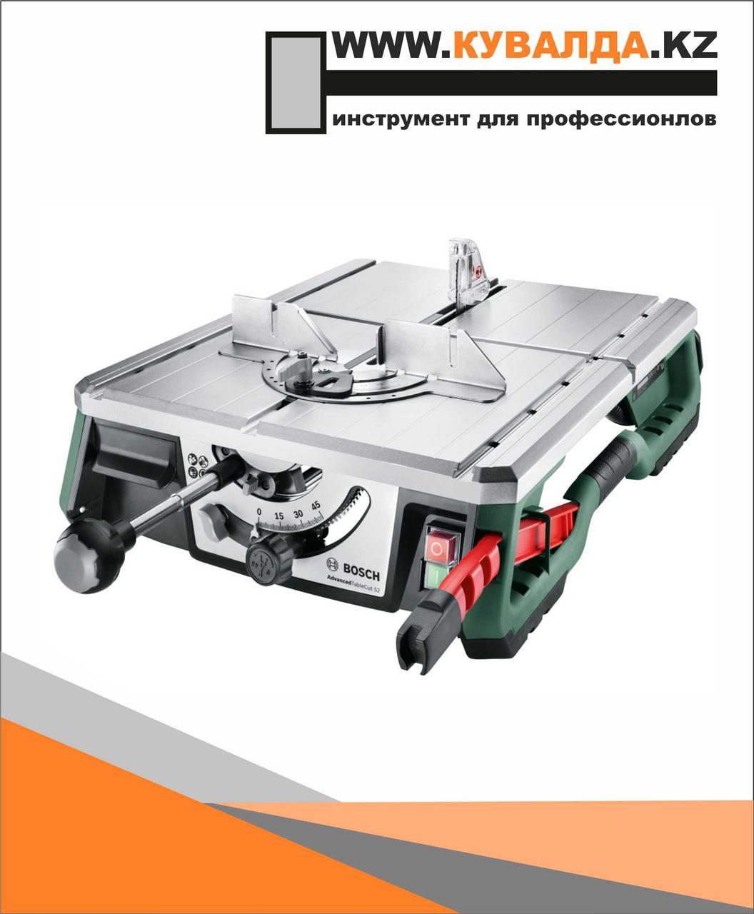 Многофункциональная стационарная пила Bosch AdvancedTableCut 52