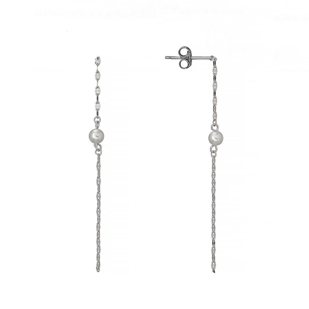 Серьги пусеты Brosh Jewellery  (Серебро 925)