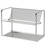 Сушилка посудная,ОРДНИНГ , нержавеющ сталь, 50x27x36 смИКЕА, IKEA, фото 1