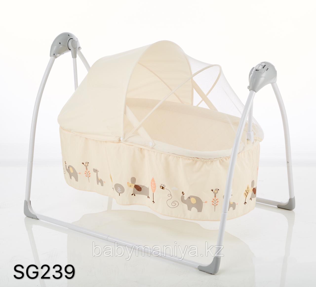 Колыбель-качалка электрическая SG239