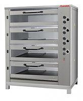 Хлебопекарная ярусная печь ХПЭ-750/4 со стеклянными дверцами, фото 1