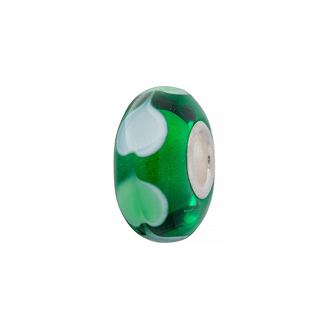 Шарм Brosh Jewellery (Серебро 925) (зеленый)