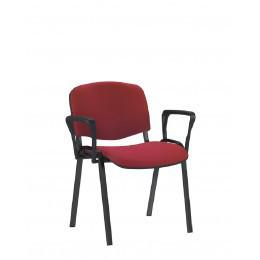 Изо стулья для посетителей черный