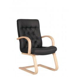 Кресло для посетителей дерево