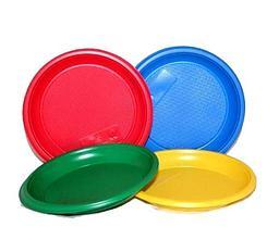 Одноразовые тарелки (фасованные)