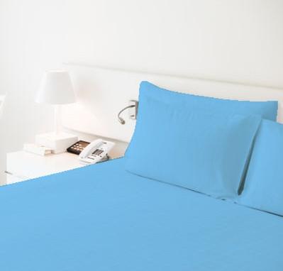 Простынь на резинке двухспальная 160х220