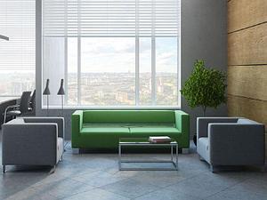 Офисная мягкая мебель 3+1+1