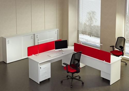 Белые столы для офиса
