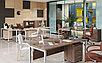 Офисные столы на металлических опорах, фото 3