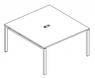 Конференц столы на металлических ножках, фото 7