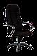 Кресло ортопедическое офисное хром  бюджет, фото 3