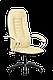 Кресло ортопедическое офисное хром  бюджет, фото 7