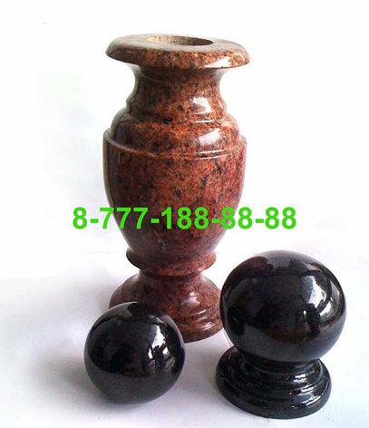 Гранитные вазы, шары, фото 2