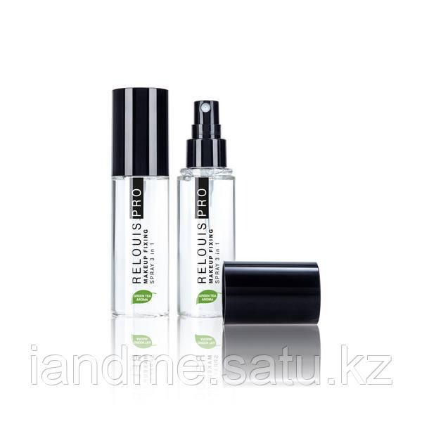 """Спрей для фиксации макияжа 3в1 """"Makeup Fixing Spray"""" с запахом зеленого чая"""