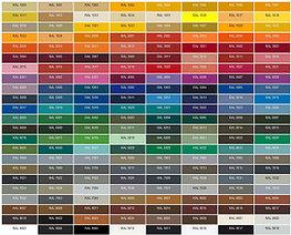 Палитра цветов краски Neochim