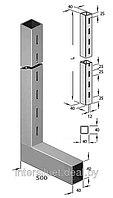 Стойка 40*40мм L-образная «Элемент» высота 2,4м