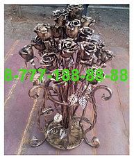 Кованые цветы на могилу, фото 3