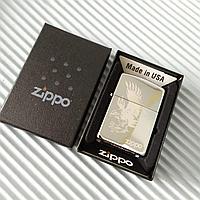 "Зажигалка  Zippo - ""Орёл"", в подарочной коробке., фото 1"