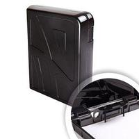 Стамм Кейс-регистратор Стамм, А4, 317*270*73 мм, полипропилен, черный.