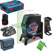 Лазерный уровень, нивелир Bosch GCL 2-50 CG Professional, зеленый лазер, 0 601 066 H00