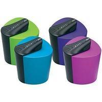 Berlingo Точилка пластиковая Color Zone, 1 отверстие, ассорти.