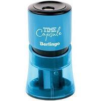 Berlingo Точилка пластиковая TimeCapsule, 2 отверстия, ассорти.