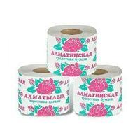 Карина Туалетная бумага, Карина Алматинская, слоев - 1, намотка - 26м., упак - 1шт.